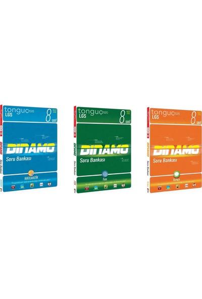 Tonguç Akademi 8. Sınıf Matematik Fen Türkçe Dinamo Soru Bankası Seti 3 Kitap
