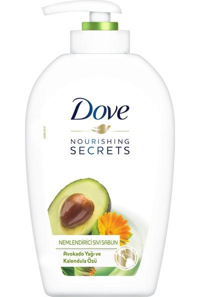 Dove Avokado Yağı ve Kalendula Özlü Nemlendiricili Sıvı Sabun 500 ml