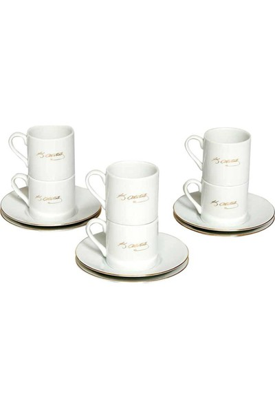 Kütahya Porselen Atatürk Imzalı Kahve Takımı