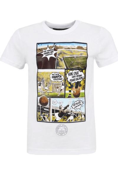 Fenerium Çocuk Tribün Çizgi Roman T-Shirt
