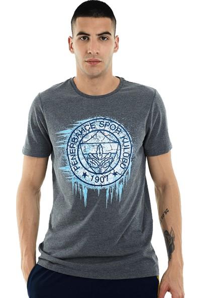 Fenerium Erkek Tribün Frozen Logo T-Shirt