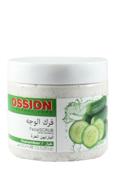 Ossion Facial Scrub Cucumber 400ml