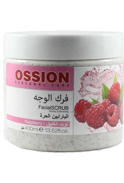 Ossion Facial Scrub Raspberry 400ml