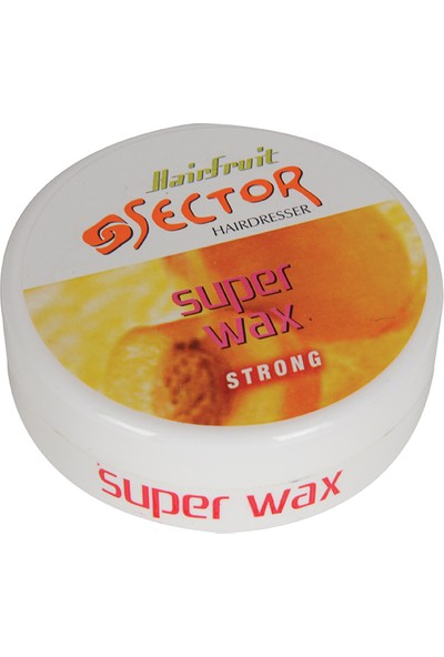 Sector Wax 150 ml Haırfruıt-Strong