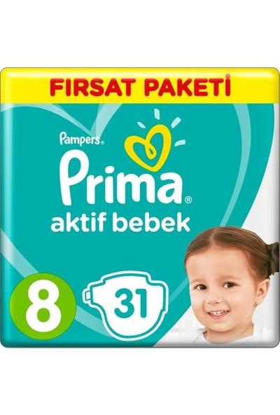 Prima Aktif Bebek 8 Numara 31'li