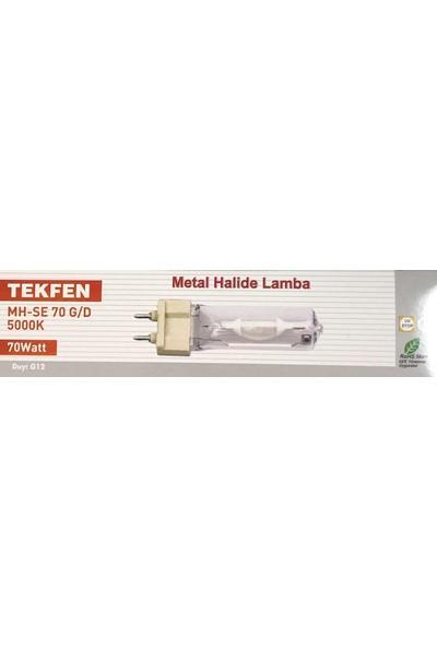 Tekfen G12 70 W Metal Halide Lamba 5000K