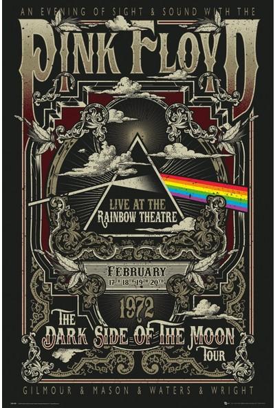 GB Eye Pink Floyd Rainbow Theatre Maxi Poster