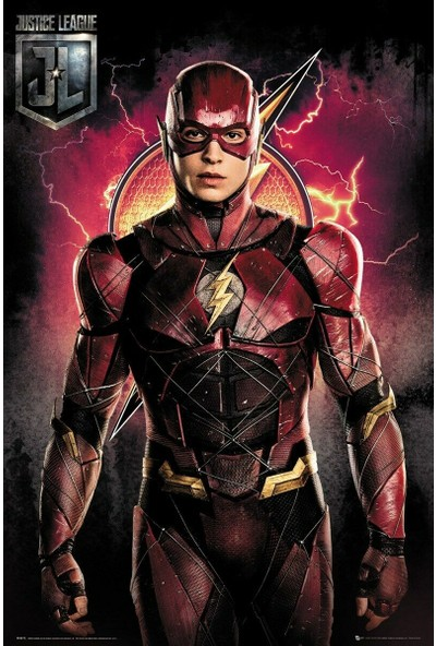GB Eye The Flash Solo Justice League Movie Maxi Poster
