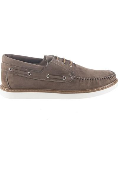 Cg 10040 Erkek Günlük Ayakkabı Bej Nubuk