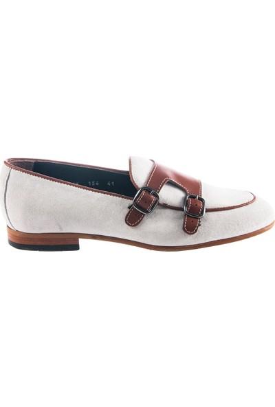 Cg 154 Erkek Klasik Ayakkabı Bej Süet