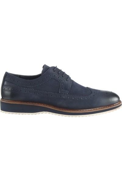 Cg 2606 Erkek Günlük Ayakkabı Lacivert Nubuk