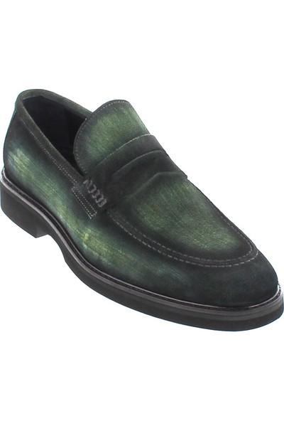 Cg 319 Erkek Klasik Ayakkabı Yeşil Süet