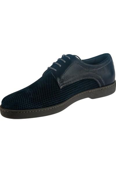 Cg 3426 Erkek Günlük Ayakkabı Lacivert Nubuk