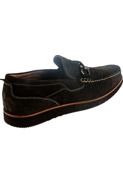 Cg 3459 Erkek Günlük Ayakkabı Yeşil Süet