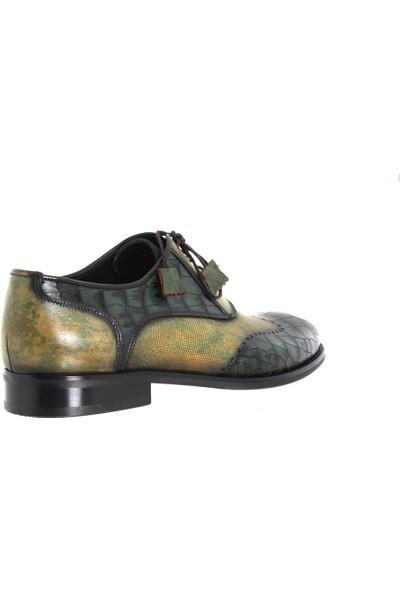 Cg 638 Erkek Klasik Ayakkabı Yeşil