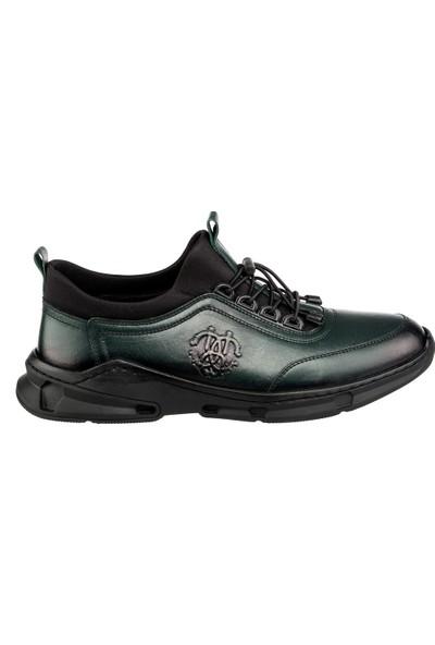 Cg 6602-1 Erkek Günlük Ayakkabı Yeşil