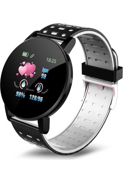 Yukka Android Ios İçin Akıllı Saat Nabız Ölçer
