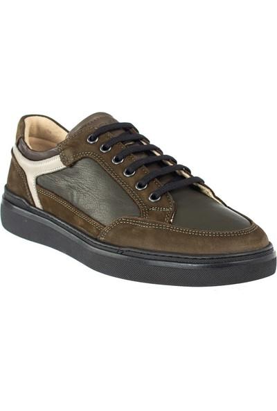 Cg 4423 Erkek Günlük Spor Ayakkabı Haki