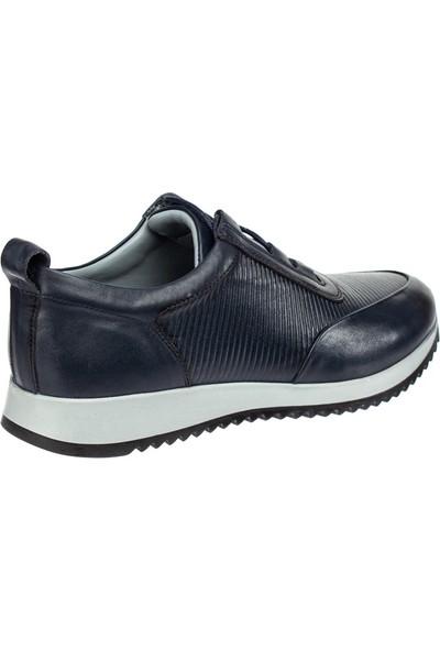 Cg 857-1 Erkek Günlük Spor Ayakkabı Lacivert