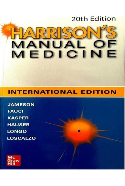 Harrisons Manual Of Medicine 20 th Edition 2020 - J. Larry Jameson
