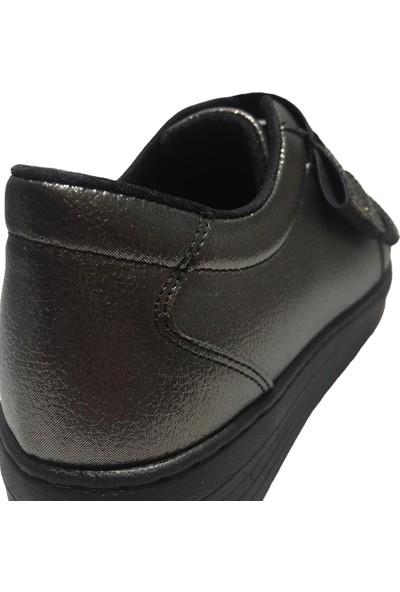 Pandora Moda 398 Kadın Ayakkabı Platin