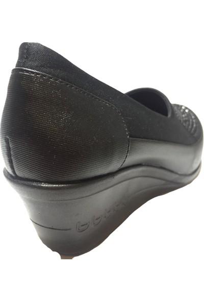 Pandora Moda 828 Kadın Ayakkabı Siyah