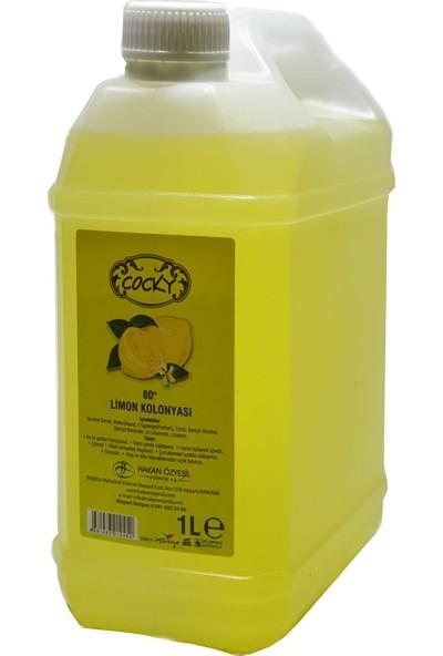 Cocky Limon Kolonyası 80 Derece 4'lü 1 lt