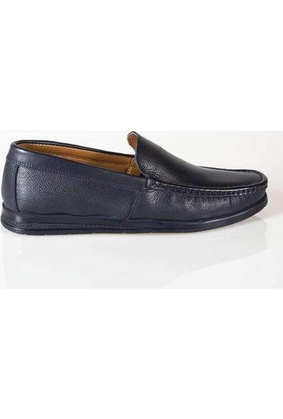 Ayakkabı Çarşı Günlük Deri Erkek Ayakkabı Lacivert