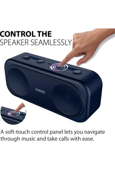 Promate Otic Bluetooth Hoparlör True Wireless Stereo 10W AUX + Kart Girişi