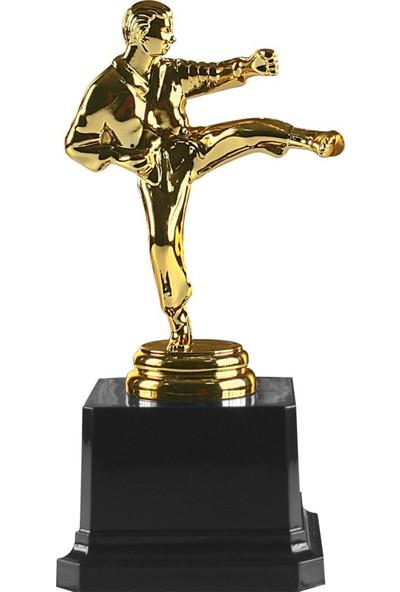 Etkin Karate Figürlü Ödül Kupası