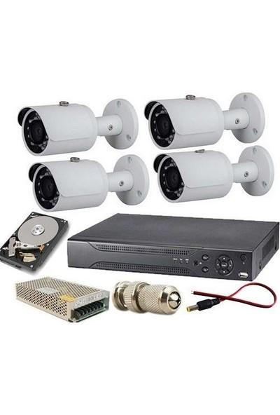 Natro 4'lü Kamera Sistemi Seti