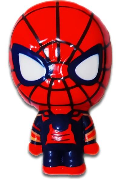 Play Seba Marvel Spiderman Squishy 7 cm - Örümcek Adam Sukuşi