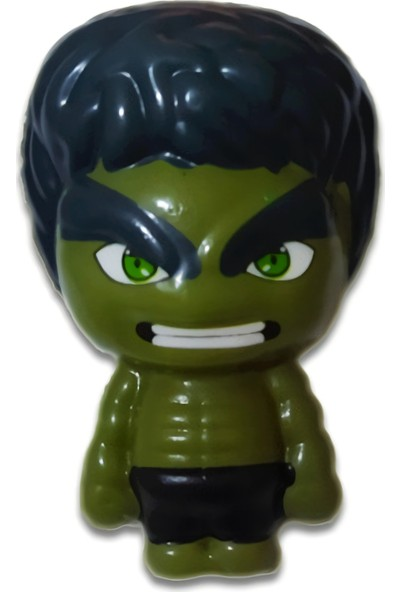 Play Seba Marvel Hulk Squishy 7 cm - Yeşil Dev Sukuşi