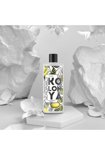 Kavaklı Limon Kolonyası 80 Derece Cam Şişe 200 ml