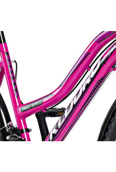 Kldoro KD-124 Bagajlı 24 Jant Bisiklet 21 Vites Kadın Dağ Bisikleti
