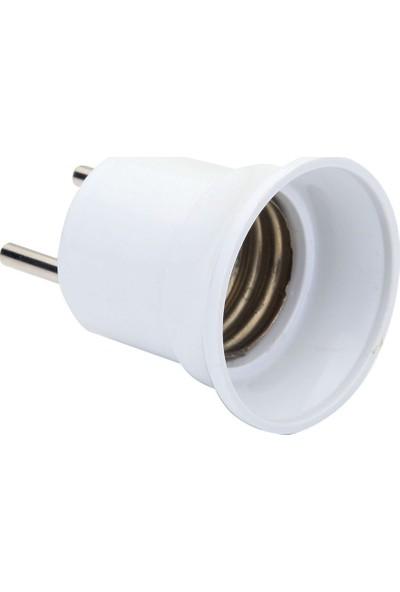 Seldur Duy Fiş E-27 Beyaz