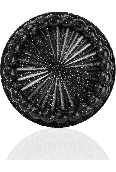 Granit Döküm Tart Kalıbı Siyah 26 cm