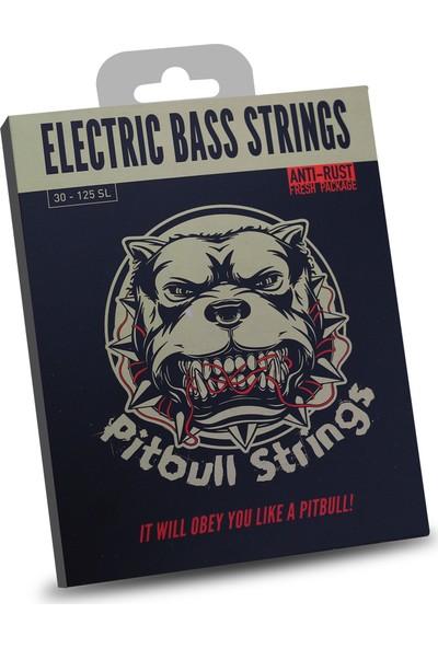 Pitbull Strings Gold Series Geb-6 Sl Super Light 6 Telli Bas Gitar Teli 030-125