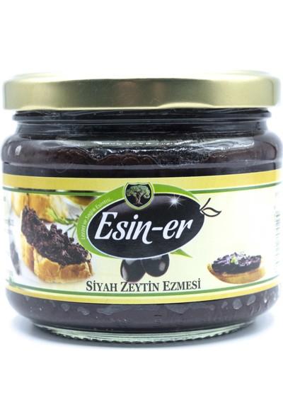 Esin-er Gemlik Taze Mahsul Siyah Zeytin Ezmesi Sade 340 gr
