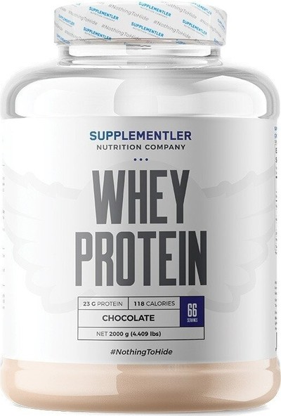 Supplementler Whey Protein 2000 gr