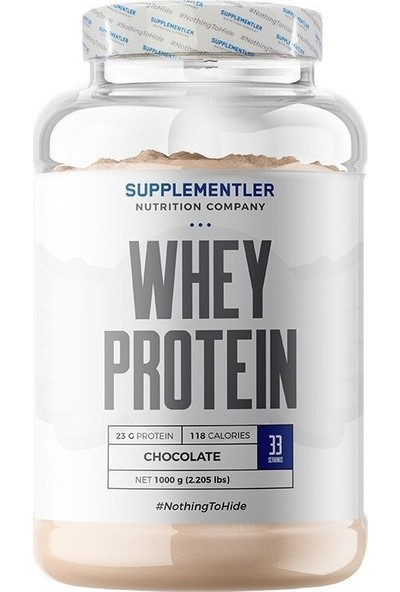 Supplementler Whey Protein 1000 gr