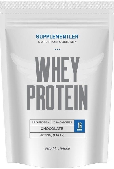 Supplementler Whey Protein 500 gr