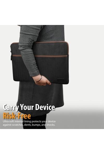 Promate Suya Dayanıklı Laptop Kılıfı,16 Inch Laptoplar, Notebook, iPad Pro Için, Portfolio-L