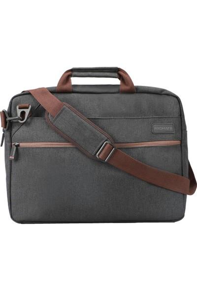 Promate Akita-Mb Notebook Laptop Çantası Messenger Postacı Tip Çoklu Bölmeli 16 İnç