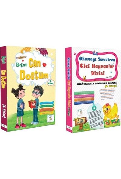 1. Sınıf Hikaye Kitabı Seti 16 Kitap Can Dostum + Cici Hayvanlar - 6 -9 Yaş