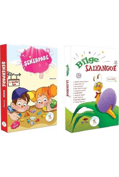 1. Sınıf Hikaye Kitabı Seti 20 Kitap Şekerpare + Bilge Salyangoz - 6 - 9 Yaş