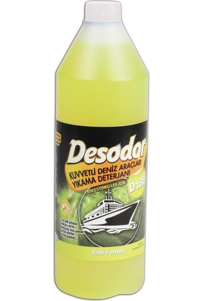 Desodor D188 Kuvvetli Deniz Araçları Yıkama Deterjanı 1 lt