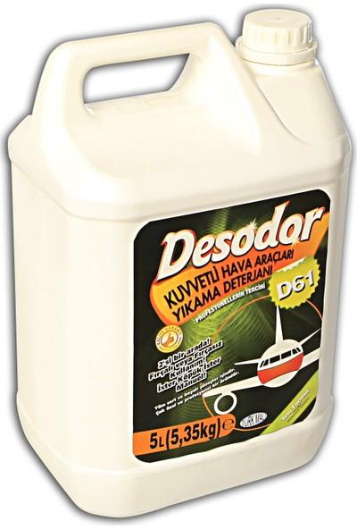 Desodor D61 Kuvvetli Hava Araçları Yıkama Deterjanı 5 lt