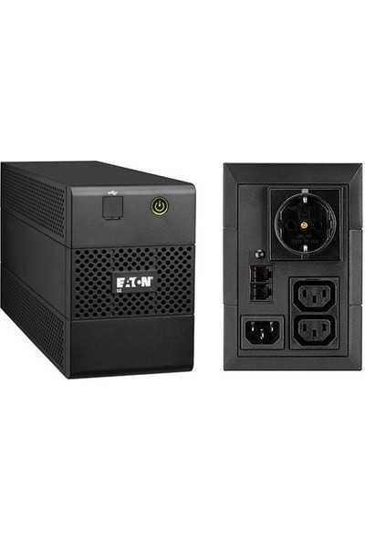 Eaton 5e 850I 850VA USB Dın(Schuko) Line-Interactive Ups
