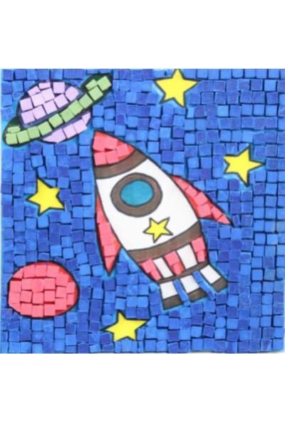 Artebella Seramik Mozaik Set 20x20 cm - Uzay